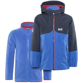Jack Wolfskin B Iceland 3In1 Jacket Kids coastal blue